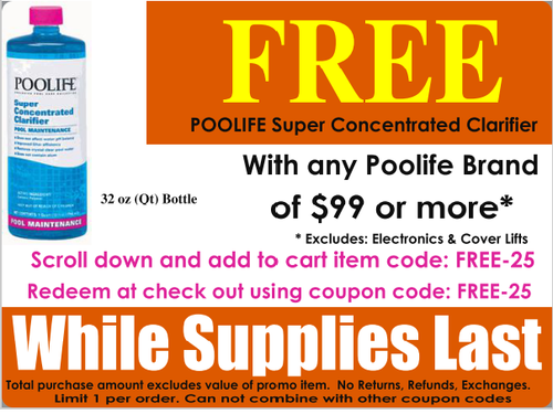 Poolife Super Concentrated Clarifier-Free Promo Offer with Minimum Purchase
