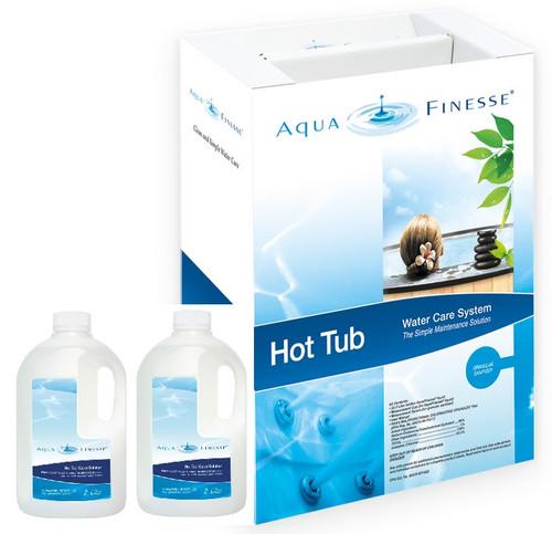 Aquafinesse   Hot Tub Care System (Granular Chlorine Kit)