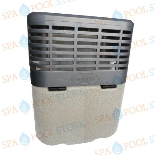 9802-733 J-LX®/J-LXL® Series Skimmer Shield in Silver Pearl Color