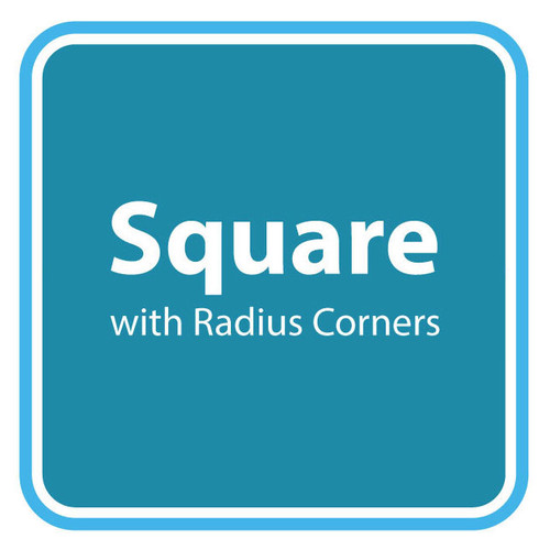 Square with Radius Corners Spa Cover