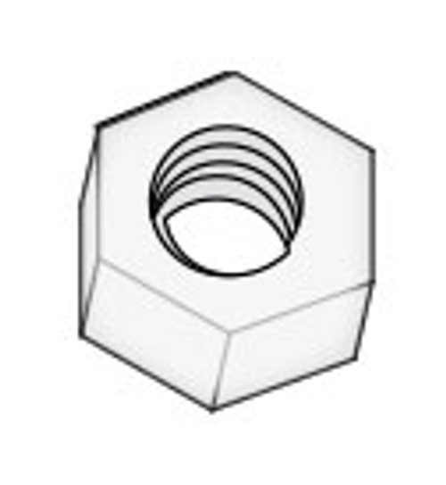 "6540-384 Hex Nut 3/8-16"" Nylon Daisy"