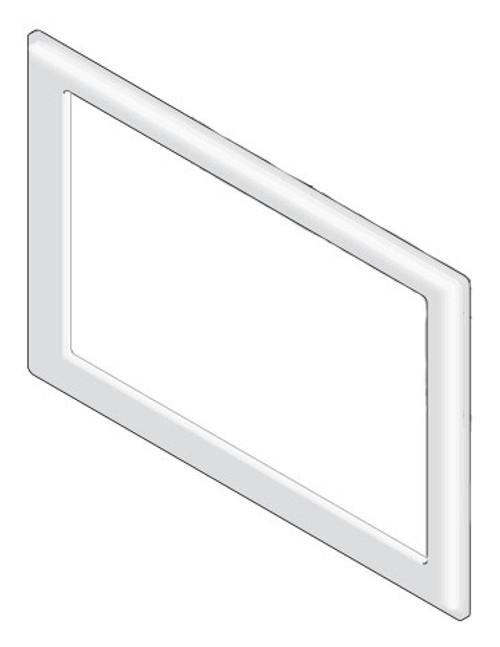 6000-275 Bezel: Stereo ABS Gray 2007