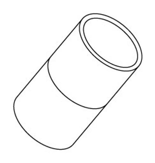 "6540-010 PVC Couplings 1"" Slip"