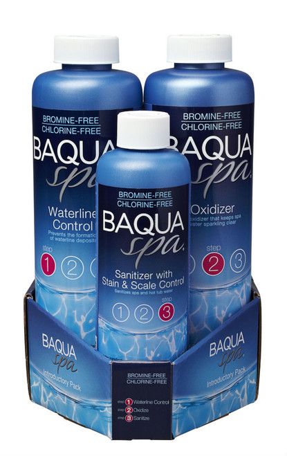Baqua Spa 3 Part Introductory Pack FREE SHIPPING - See Below for Mail in Rebate Up To $10