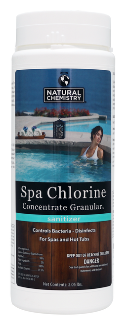 NC Brands Spa Chlorine Concentrate, 2.05lb| Formerly SeaKlear Spa-Sanitizing Granules- LOWEST PRICE
