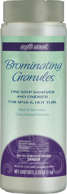 Soft Soak Brominating Granules 2.25lbs - Lowest Price - Free Shipping