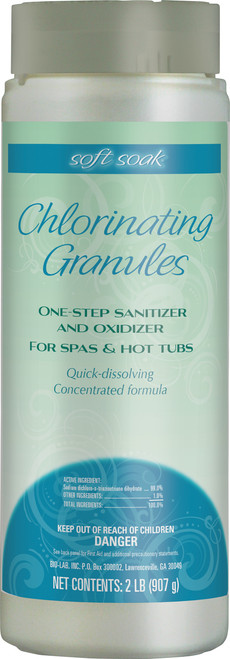 Soft Soak Chlorinating Granules 2lb - Lowest Price