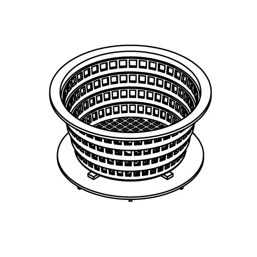 6000-736 Basket: Filter for Denali canister - Gray