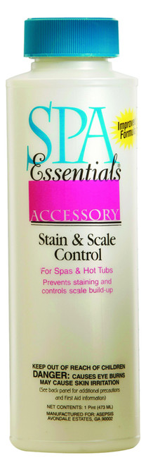 Spa Essentials Stain & Scale Control 16 oz