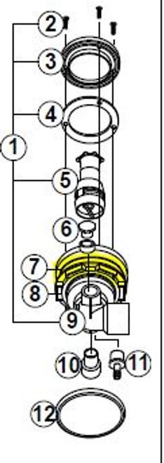 2540-352 Ring: Back-Up HTC Jet Assembly <2001