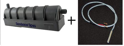 Combo Package   Sundance Spas 6500-310 Smart Heater Assembly Replacement w/ 6600-168 Hi Limit Sensor
