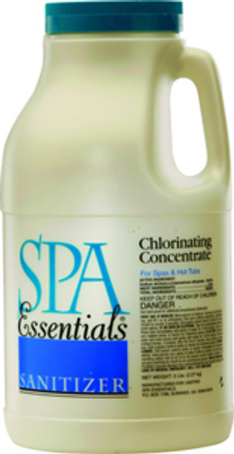 Spa Essentials Chlorinating Concentrate 5 lbs $46.99 - LOWEST PRICING