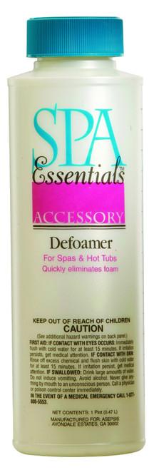 Spa Essentials Defoamer 16 oz $8.99 - LOWEST PRICING