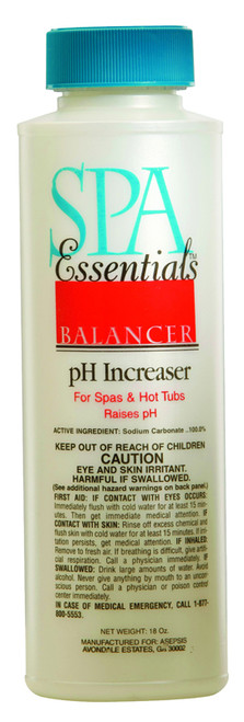 Spa Essentials pH Increaser 18 oz $3.99 - LOWEST PRICING