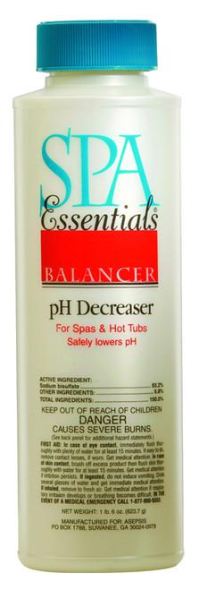 Spa Essentials pH Decreaser 22 oz $4.99 - LOWEST PRICING