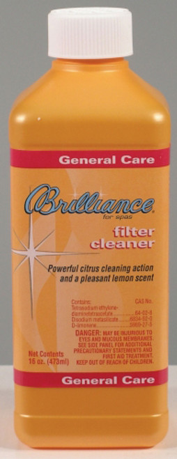 Brilliance Filter Cleaner with Fresh Lemon Scent 16 oz