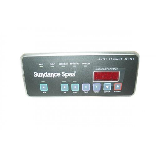 6600-710 Sundance Control Panel, 750 Series, 1 Pump w/ blower