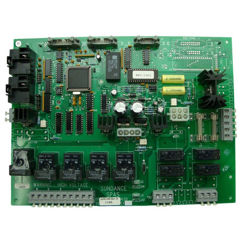 6600-040 Sundance Spas Circuit Board, 1994 with Permaclear