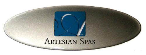OP11-0211-77 - Artesian Spas Logo Dome Plate