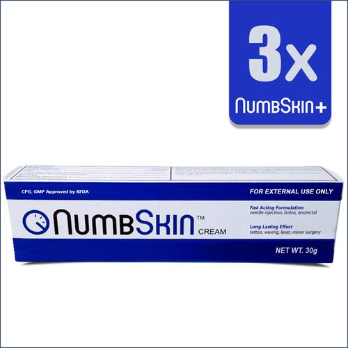 3 x NumbSkin Plus