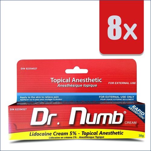 8 Tubes of Dr. Numb