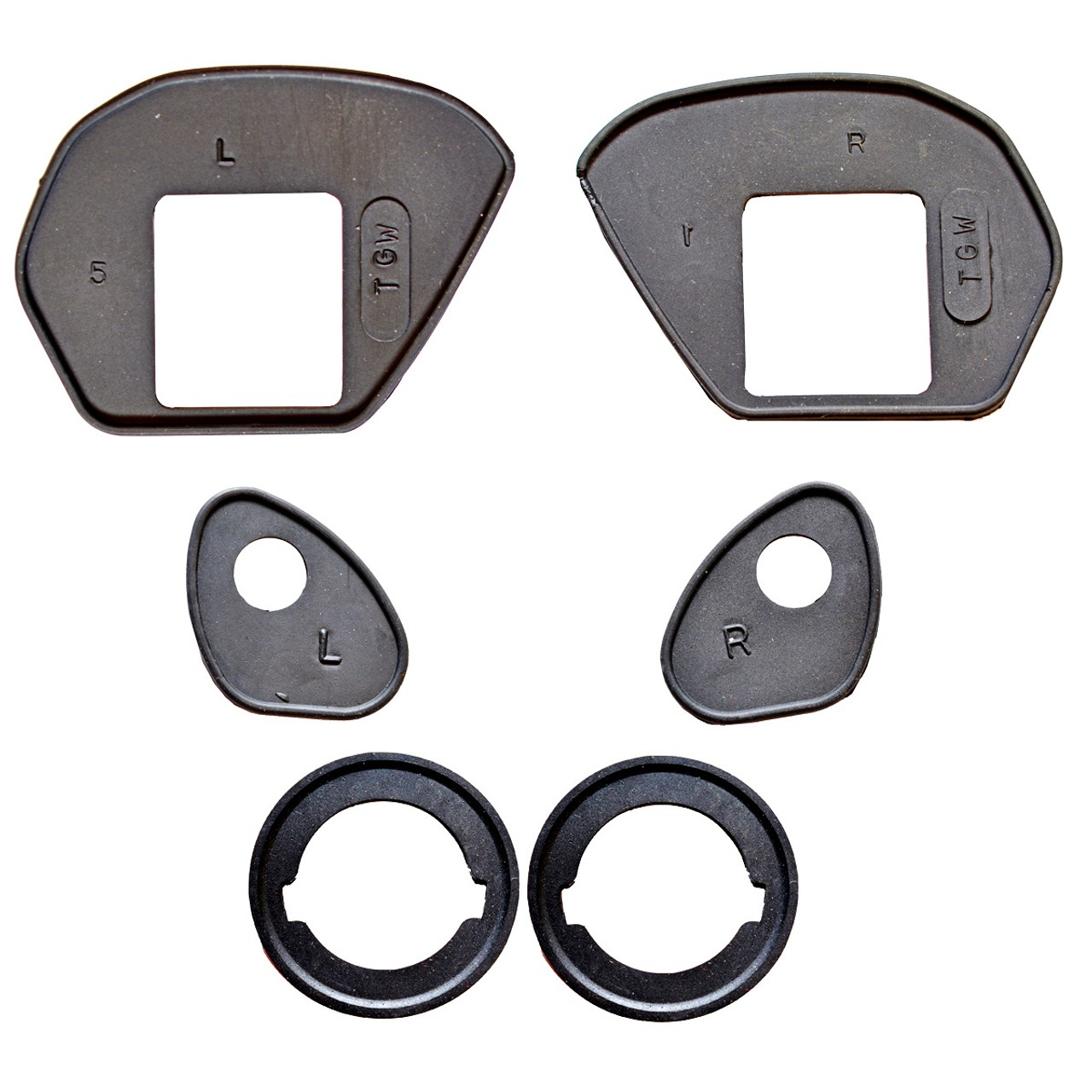 Door Handle Gasket Set 2 Door 1968-1988