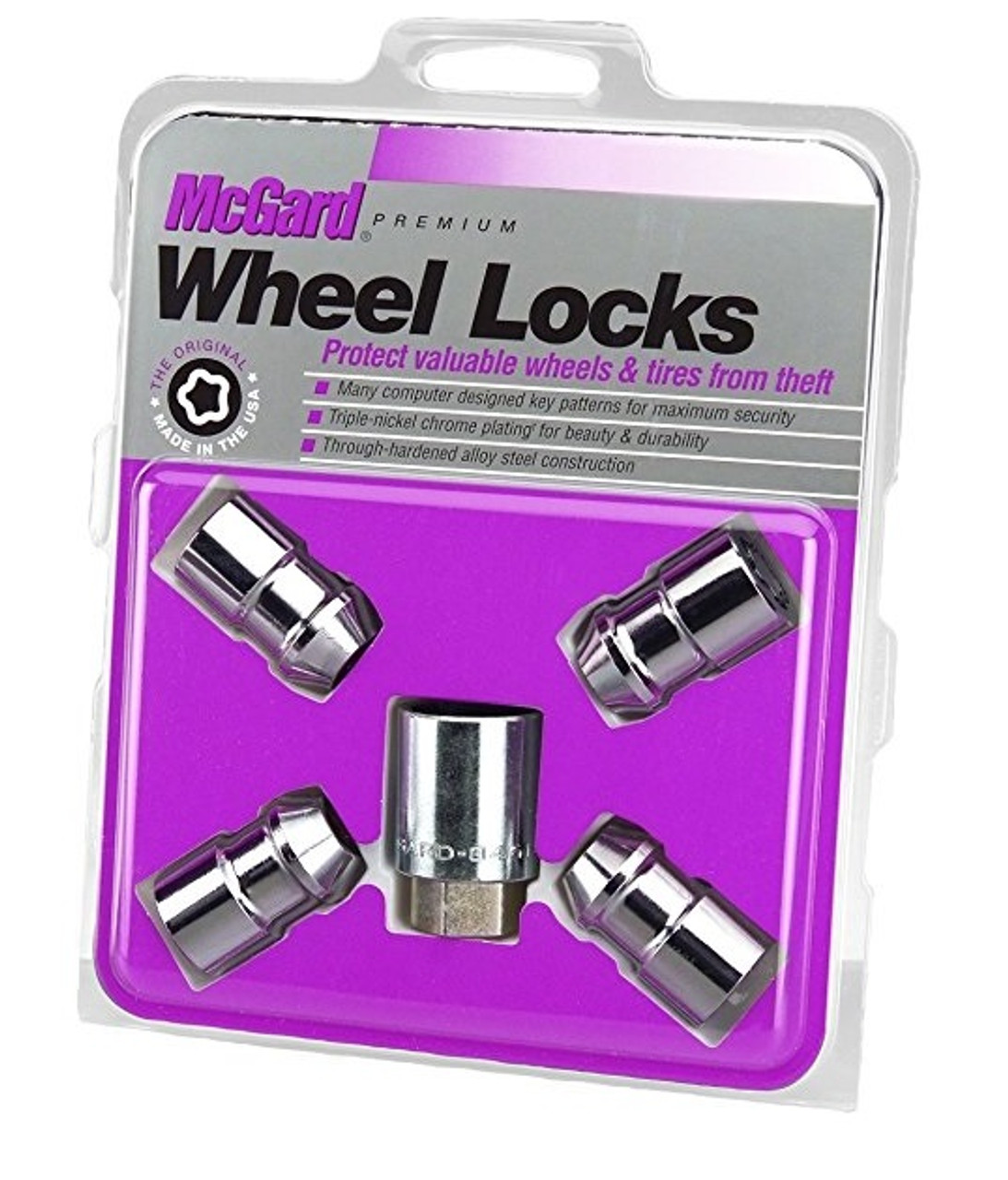 MCGARD CHROME WHEEL LOCK SET