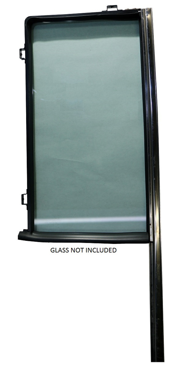 REAR DOOR VENT GLASS FRAME KIT W/WEATHERSTRIP