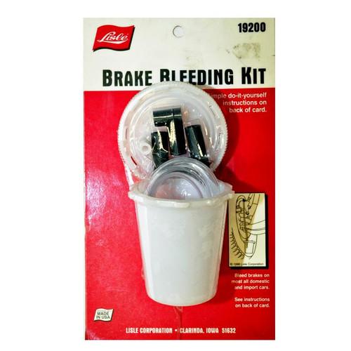 Lisle Brake Bleeding Kit
