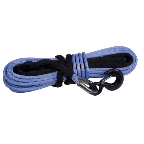 "Synthetic Winch Rope 3/8"" x 94', Breaking Force of 19,310lbs"