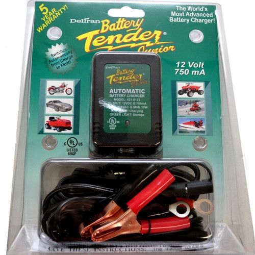 Battery Tender Jr 12 Volt 0.75 Amp Battery Charger