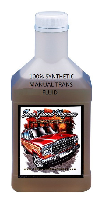 100% Synthetic Manual Transmission Fluid GW 1974-1988