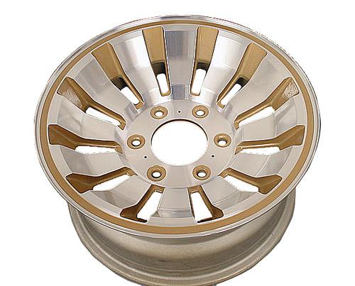 Wheel Refurbished Aluminum Gold Rim Jeep Grand Wagoneer 83-91