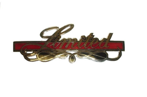 Limited Emblem OEM GW 1978-1985