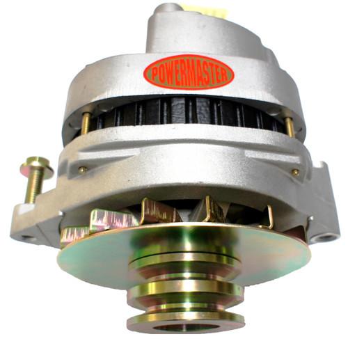 Powermaster 150/100 Amp Natural Color Dual Pulley Alternator GW 1978-1991