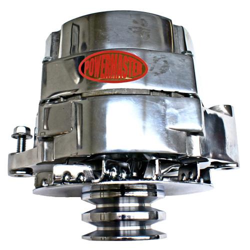 Powermaster Brand 150/100 Amp Polished Dual Pulley Alternator GW 1978-1991