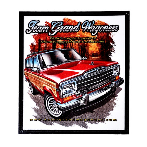 TEAM GRAND WAGONEER STICKER ( PAIR)