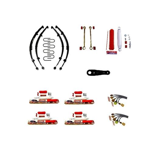 "Skyjacker Complete Lift Kit 3.5""- 4"" Full Size Cherokee 1974-1983"