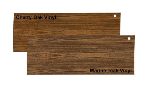 Cherry Oak & Marine Teak Vinyl SAMPLE GW 1984-1991