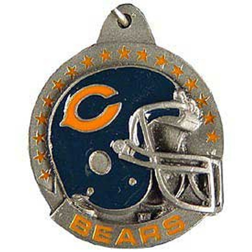 Chicago Bears Pewter Helmet Key Chain