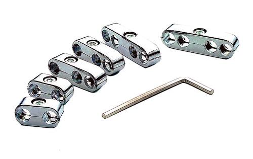 MR GASKET Chrome Plastic Ignition Wire Separator  W/Tool Kit GW 1974-1991