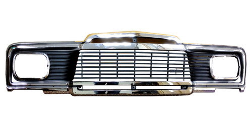 Chrome 1-Piece Grille Assembly GW 1979-1985