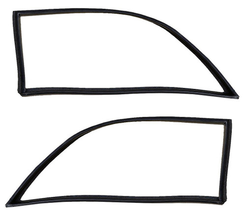 Rear Quarter Window Weatherstrip Seals Pair GW 1968-1991