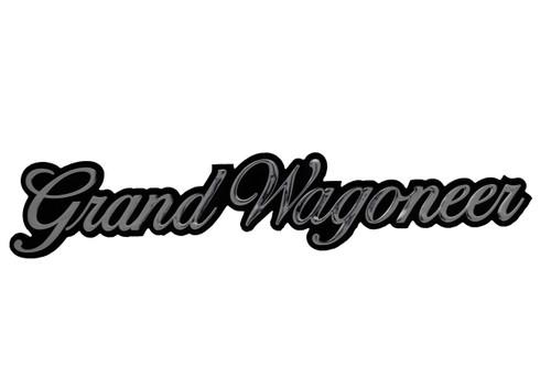 Grand Wagoneer Emblem 1986-1991