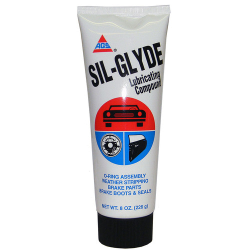 Sil-Glyde Flex Rack & Weatherstrip Grease 8-Oz Tube
