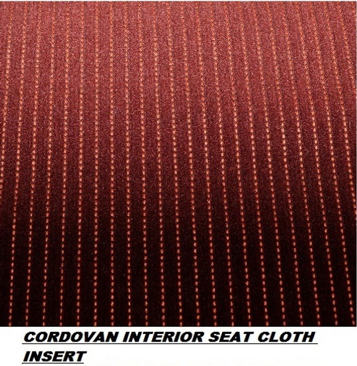Garnet Seat Cloth Insert Set 1987-1988