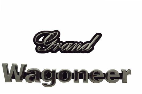 Grand Wagoneer Emblem 1983-1985
