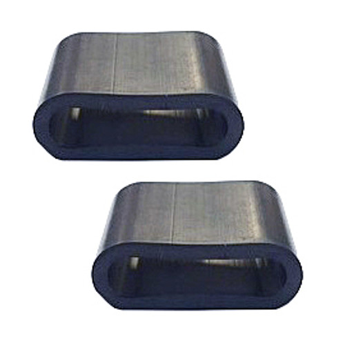 Tailgate Glass Rubber Bump Stop Set GW 1974-1991