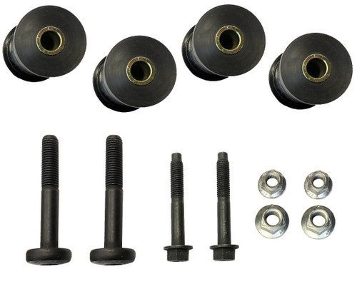 Complete Front & Rear Track Bar Bushing W/Mounting Hardware GW 1984-1991