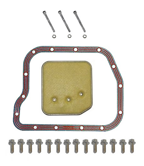 LUBE LOCKER GASKET W/SCREWS & FILTER